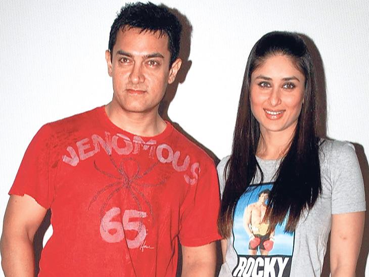 'लाल सिंह चढ्डा' चित्रपटात दिसणार आहे आमिर खान - करिना कपूरची लव्ह स्टोरी  - Divya Marathi
