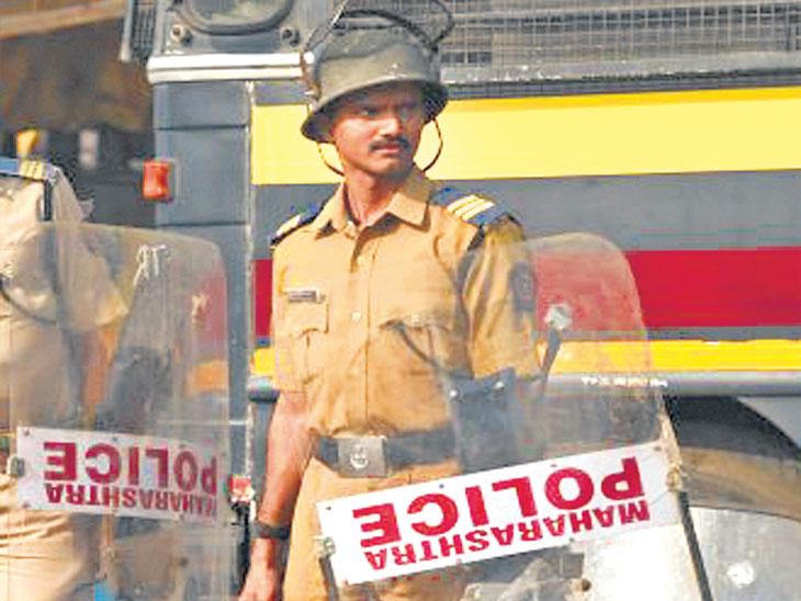 बंदोबस्ताचा ताण वाढला, २२ हजार पोलिसांची उणीव; पोलिस खात्याचे आयोगाला स्पष्टीकरण| - Divya Marathi