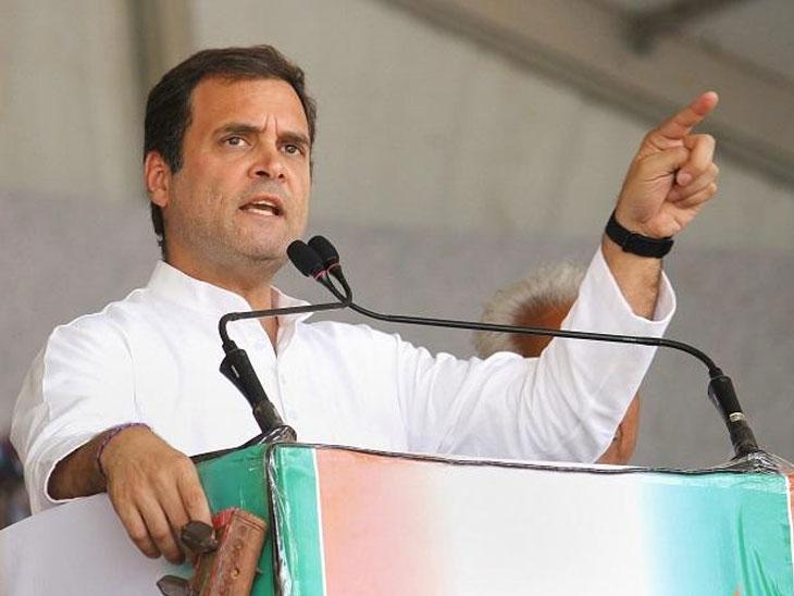 निवडणुकांच्या तोंडावर शरद पवारांवर सुडबुद्धीने कारवाई; राहुल गांधींचा हल्लाबोल|मुंबई,Mumbai - Divya Marathi
