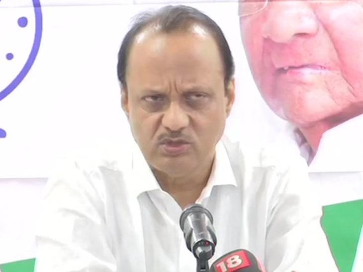 अजित पवारांना अश्रू अनावर: माझ्यामुळे पवारांची बदनामी होऊ नये म्हणून आमदारकीचा राजीनामा दिला -अजित पवार मुंबई,Mumbai - Divya Marathi