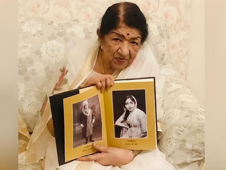 90 वर्षांच्या गायिका लता मंगेशकर यांनी केला इंस्टाग्रामवर डेब्यू, 2 तासांतच बनले 47 हजार फालोअर्स| - Divya Marathi