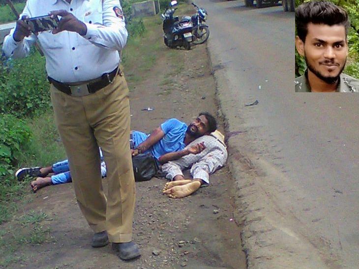 नवापूरमध्ये मोटरसायकलची समोरसमोर भीषण धडक, एकाचा जागीच मृत्यू तर एकजण गंभीर जखमी|जळगाव,Jalgaon - Divya Marathi