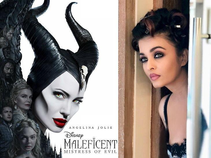 'मेलफिसेंट : मिस्ट्रेस ऑफ इव्हील' च्या हिंदी व्हर्जनमध्ये अँजेलिना जॉलीचा आवाज बनणार आहे ऐश्वर्या राय| - Divya Marathi