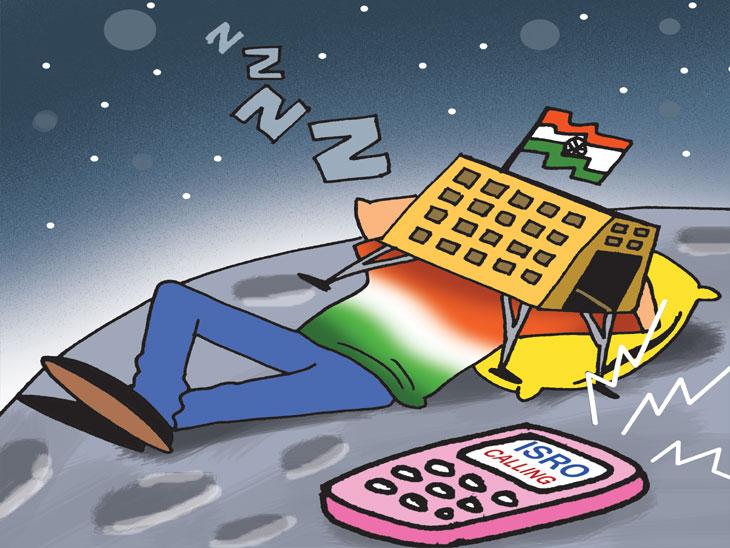 इस्राेची क्रॅश लँडिंगनंतरही आशा जिवंत, लँडर विक्रमशी संपर्कासाठी आता चंद्रावर सकाळ होण्याची प्रतीक्षा!|ओरिजनल,DvM Originals - Divya Marathi