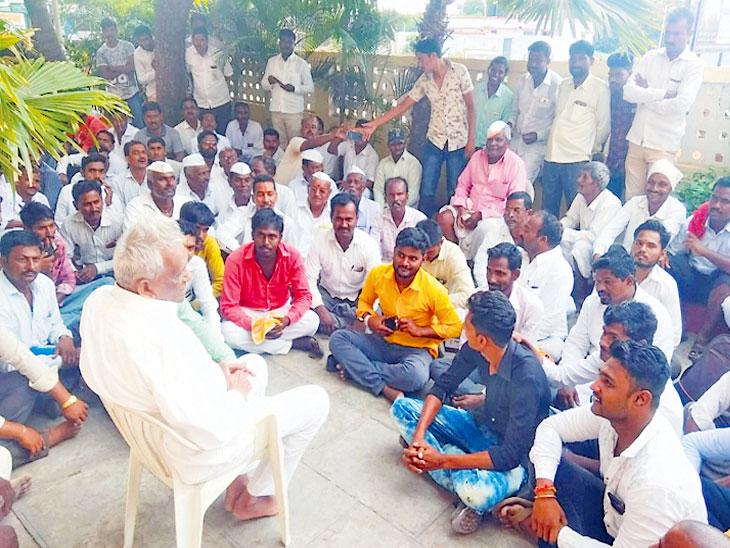 जिथे नेते शेवटपर्यंत निवडणुका लढले, तेथील पक्ष निकालात; शेकापचे ज्येष्ठ नेते गणपतराव देशमुखांची भावना|देश,National - Divya Marathi