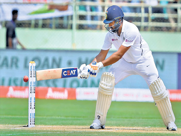 राेहितचे पहिल्यांदा ओपनिंगला शतक; टीम इंडियाचा  ठरला चाैथा फलंदाज| - Divya Marathi