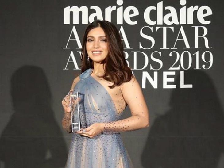 भूमी पेडनेकरने जिंकला 'फेस ऑफ एशिया' अवॉर्ड, 24 व्या बुसान फिल्म फेस्टिव्हलमध्ये 'डॉली किटी' चित्रपटाचा झाला प्रीमियर|देश,National - Divya Marathi