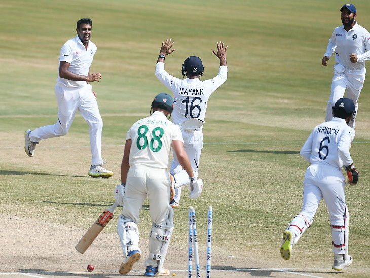 विशापट्टणम कसोटीत भारताचा दक्षिण आफ्रिकेवर 203 धावांनी विजय; घरच्या मैदानावर सलग पाचव्यांदा केला पराभव|देश,National - Divya Marathi