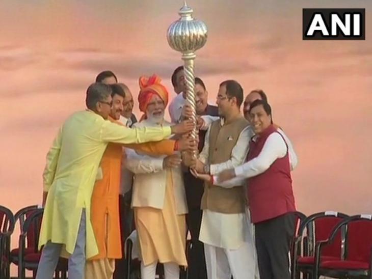 उत्सव भारताच्या सामाजिक जीवनाचा घटक, यामुळे लोक एकत्रित येतात -पंतप्रधान| - Divya Marathi