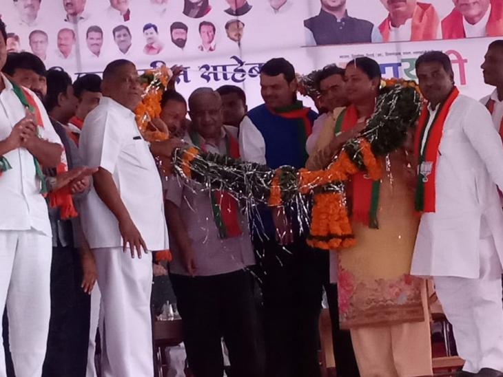 शिवाजी महाराज, टिळक आणि फुले घराण्यानंतर सरदार पटेलांच्या वशंजानी केला भाजपमध्ये प्रवेश|जळगाव,Jalgaon - Divya Marathi