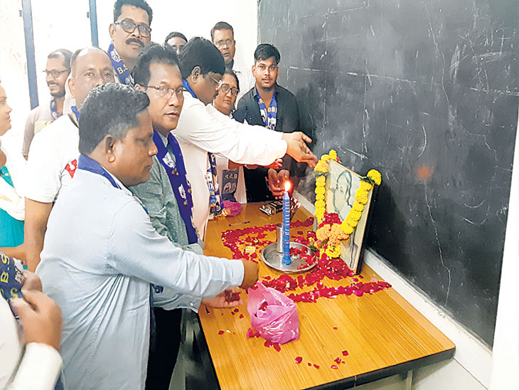 बसपचा संकल्प : राज्यात एक तरी उमेदवार निवडून आणणार - सुरेश साखरे| - Divya Marathi