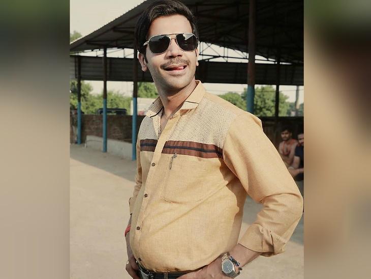 राजकुमार रावने दिग्दर्शकाला पाहून 'मेड इन चायना' चित्रपटात केला जोडलेल्या भुवयांचा लूक, वाढवले 8 किलो वजन| - Divya Marathi