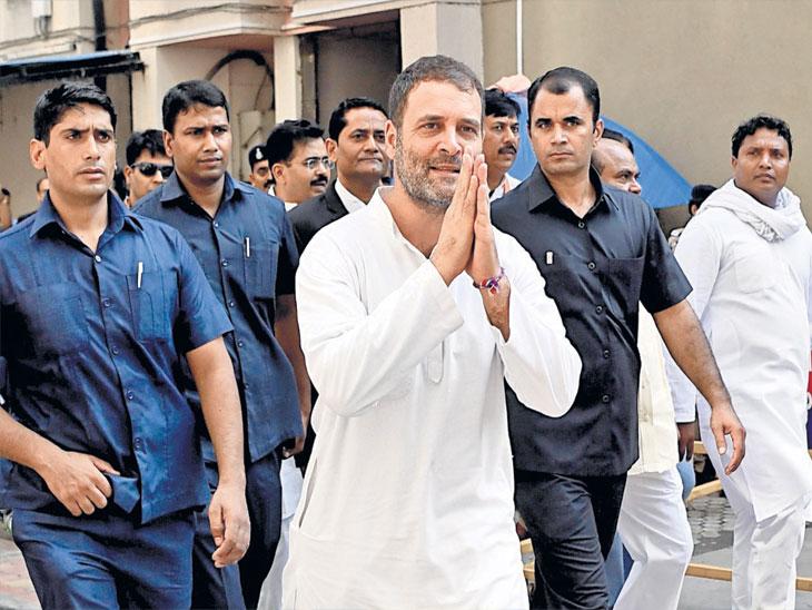 मी निर्दाेष, विराेधक माझा आवाज बंद करू इच्छितात; राहुल गांधी यांचा आरोप| - Divya Marathi