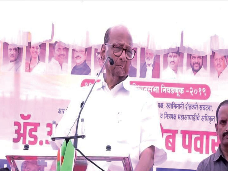 'करुन गेलं गाव आणि भलत्याचंच नाव'अशी सध्याची भाजपची परिस्थिती - शरद पवार|पुणे,Pune - Divya Marathi