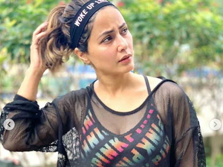 हिना खानचे फोटोशूट| - Divya Marathi