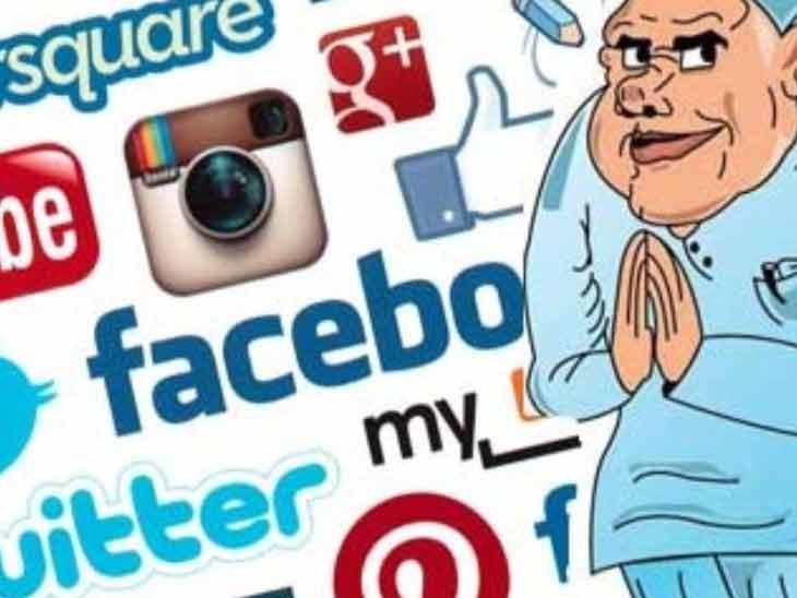 सोशल मिडियावर प्रचाराची फुशारकी मारणारे निरर्थक,  2 लाख मतदारांपर्यंत सोशल मिडिया पोहचत नाही| - Divya Marathi