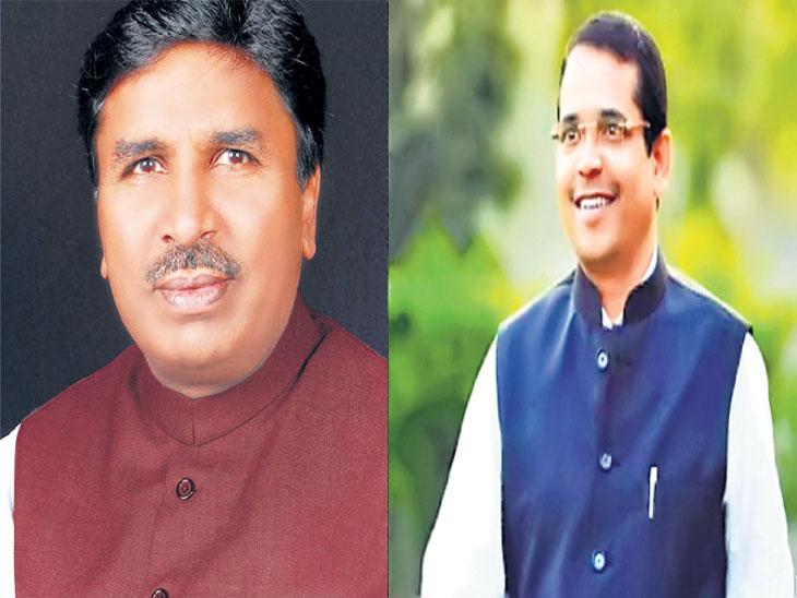 बसवराज पाटील, काँग्रेस आणि अभिमन्यू पवार, भाजप - Divya Marathi