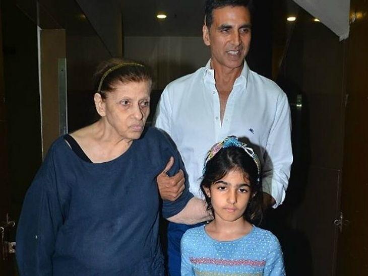 डिम्पल कपाडिया यांच्या आई आणि अक्षय कुमारच्या आजेसासू बेट्टी यांचे मुंबईमध्ये शनिवारी रात्री निधन झाले आहे. बेट्टी 80 वर्षांच्या होत्या. - Divya Marathi