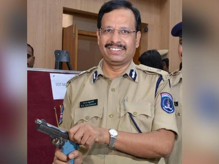 तेलंगणामध्ये पोलिस आयुक्त सज्जनार एन्काउंटर स्पेशालिस्ट म्हणून प्रसिद्ध आहेत. - Divya Marathi