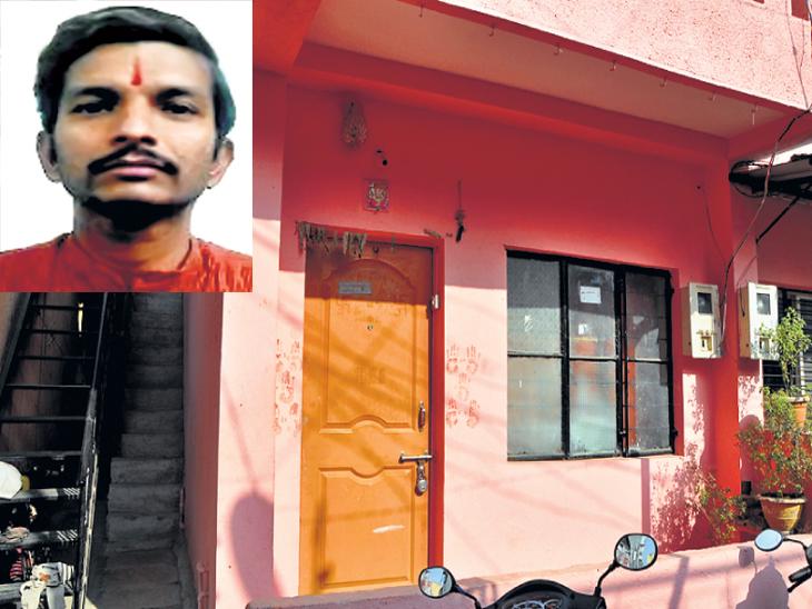 औरंगाबादेत ऋषिकेश देवडीकर या घरात राहायचा. - Divya Marathi