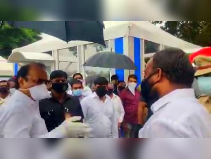 महाराष्ट्र नवनिर्माण सेनेचे नगरसेवक आणि शहर प्रमुख सचिन चिखले यांना अजितदादांशी जवळून बोलायचे होते, त्यामुळे पवारांना राग आला - Divya Marathi
