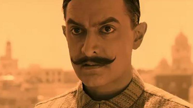 2006 च्या 'रंग दे बसंती' मध्ये आमिर खान .