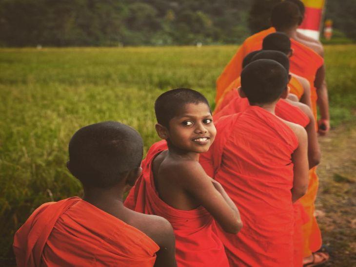 श्रीलंकेत टिपलेला फोटो