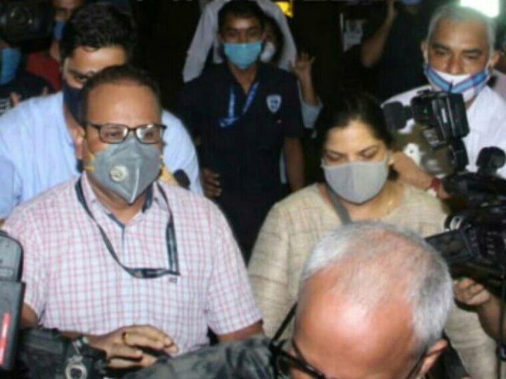 सीबीआयची टीम गुरुवारी संध्याकाळी मुंबई विमानतळावर दाखल झाली आणि सध्या एअरफोर्सच्या गेस्टहाऊसमध्ये थांबली आहे. - Divya Marathi