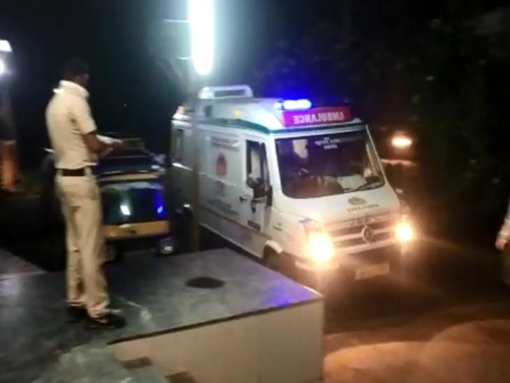 घटनेची माहिती मिळताच पोलिसांनी घटनास्थळी धाव घेतली