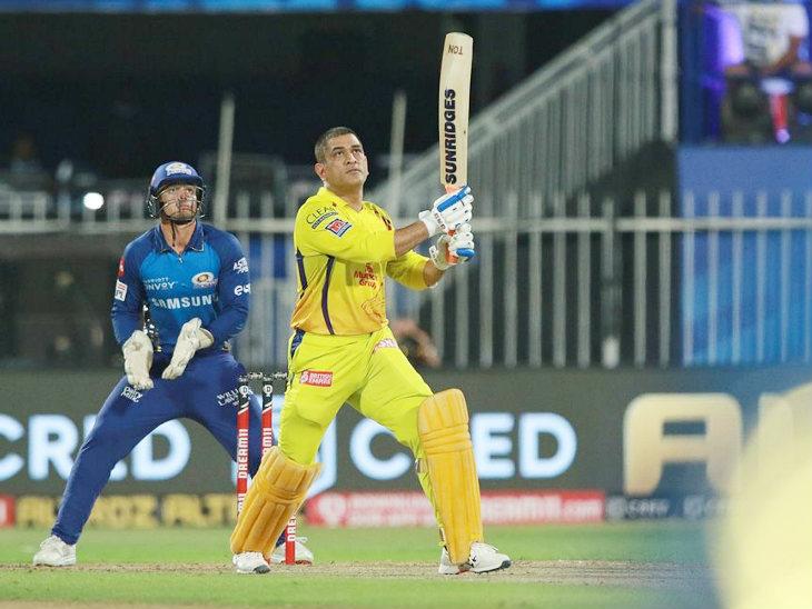 महेंद्रसिंग धोनी आयपीएलमध्ये 200 षटकार मारणारा पहिला कर्णधार ठरला.