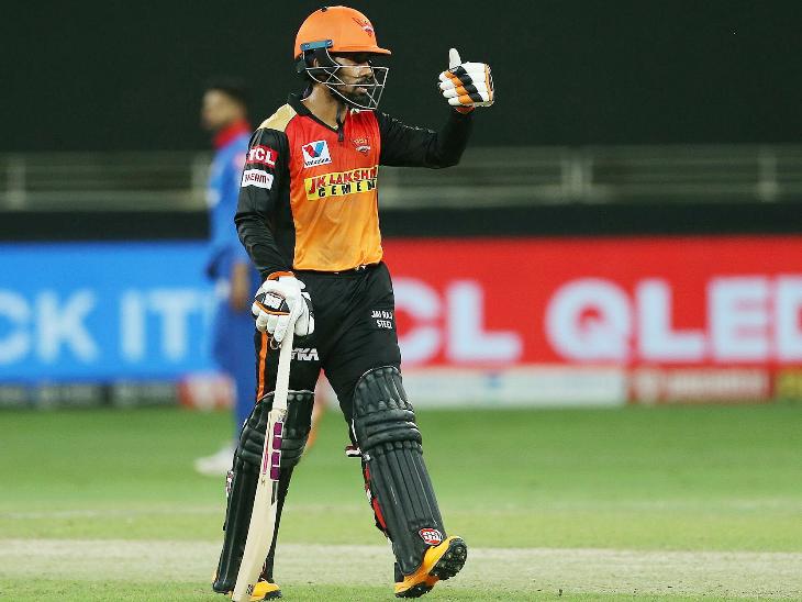 ऋद्धिमान साहाने 45 चेंडूत 87 धावा केल्या. साहाने 12 चौकार आणि 2 षटकार लगावले.