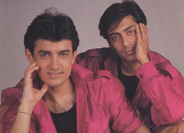 आमिर आणि सलमानचे हे फोटोशूट 1994 साली आलेल्या 'अंदाज अपना अपना' सिनेमाच्या वेळचे आहे.