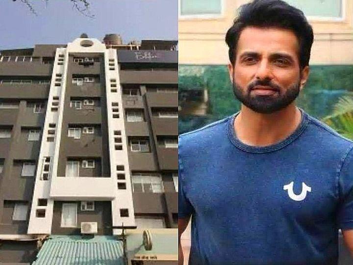 याच शक्ती सागर इमारतीचे हॉटेलमध्ये रुपांतर केल्याचा आरोप सोनू सूदवर आहे. - Divya Marathi
