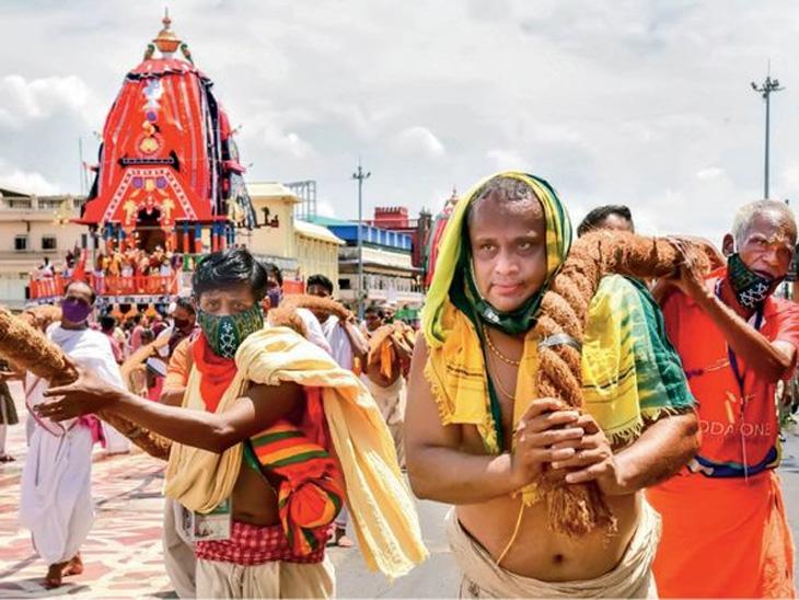 सलग दुसऱ्या वर्षी भक्तांविना होणार श्री जगन्नाथ परिक्रमा, तीन वेगळ्या रथांद्वारे फिजिकल डिस्टन्सिंग व छेरा पोंहरातून स्वच्छतेचा संदेश धर्म,Dharm - Divya Marathi