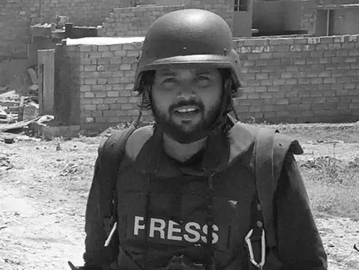 अफगाणिस्तानमध्ये कव्हरेज करताना दानिश याचा फोटो