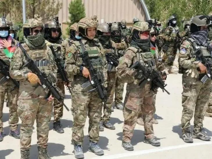 तालिबानींशी लढण्यासाठी अफगाणिस्तानात २० महिलांचे विशेष कमांडो दल तैनात करण्यात आले आहे. - Divya Marathi