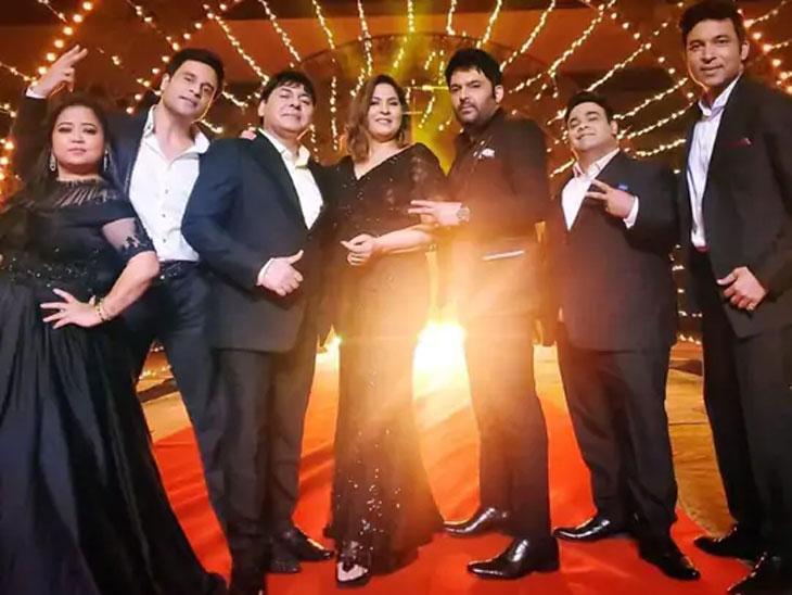 भारती सिंग, किकू शारदा, कृष्णा अभिषेक यांच्यासह कपिलने सुरु केली शोचे चित्रीकरण, म्हणाला - 'जुन्या चेह-यांयांसह नवी सुरुवात'|टीव्ही,TV - Divya Marathi