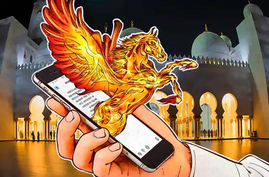 ग्रीक पौराणिक कथेतील पेगासस हा पंख असलेला घोडा आहे. इस्त्रायली सॉफ्टवेअरने आपल्या कंपनीचा लोगोही या काल्पनिक घोड्यावर बनविला आहे. काहीवर्षांपूर्वी फेसबुकने ही कंपनी खरेदी करण्याचा प्रयत्न केला आहे.