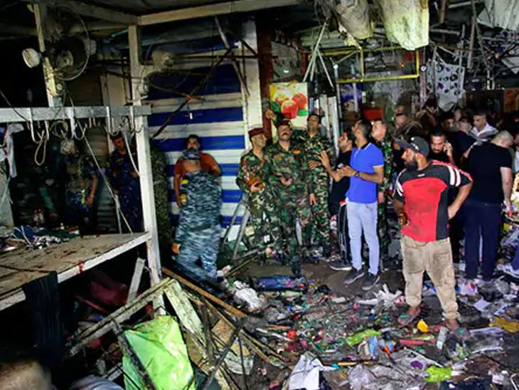 बॉम्ब स्फोटात 35 ठार, 60 पेक्षा जास्त जखमी; हल्ल्याची जबाबदारी IS च्या दहशतवादी संघटनेने स्विकारली|विदेश,International - Divya Marathi