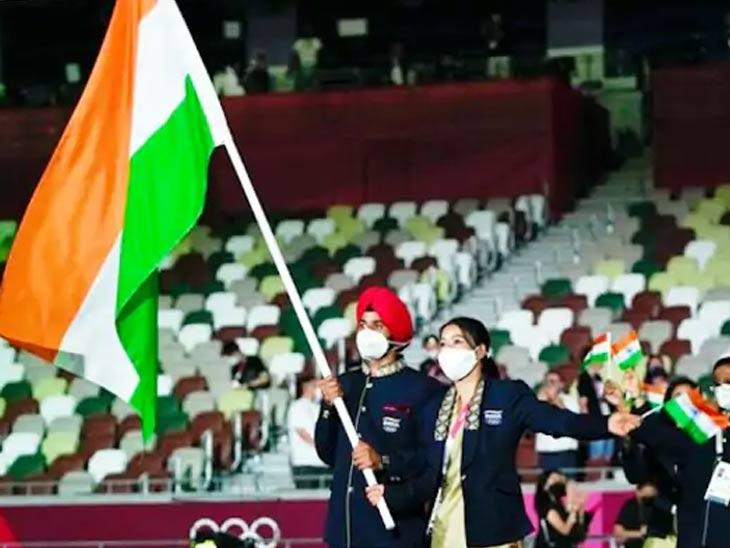 कोरोनाच्या सावटाखाली 32 व्या ऑलिम्पिक स्पर्धेला झाली सुरुवात; जगातील 350 कोटी लोकांनी पाहिला उद्घाटन सोहळा|विदेश,International - Divya Marathi