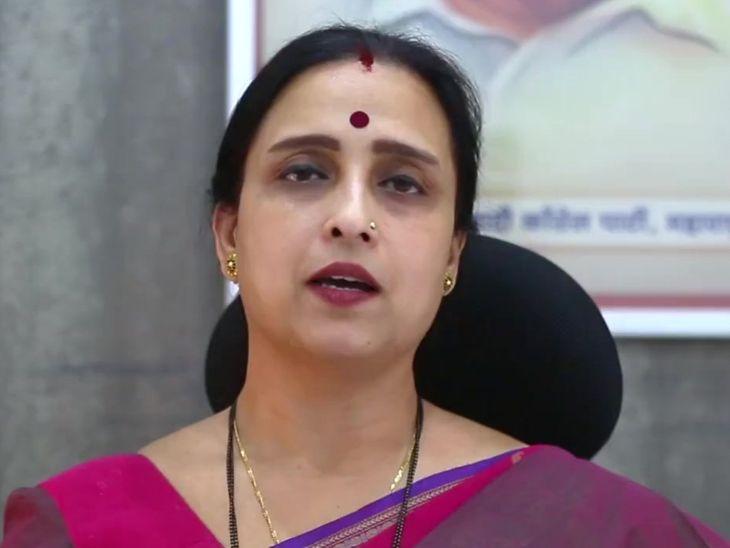 विरोधीपक्षनेत्यांनी रस्ता केला म्हणून मुख्यमंत्री कोकणात पोहोचले, रत्नागिरीचे पालकमंत्री पळपुटे; चित्रा वाघ यांची टिका|अहमदनगर,Ahmednagar - Divya Marathi