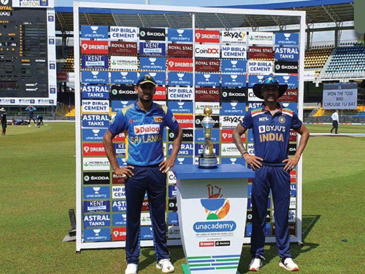 प्रथम फलंदाजी करण्यासाठी उतरलेल्या भारतीय संघाने पहिल्या चेंडूत विकेट गमावली, पदार्पण करणाऱ्या शॉला चमीराने पवेलियनमध्ये पाठवले|क्रिकेट,Cricket - Divya Marathi