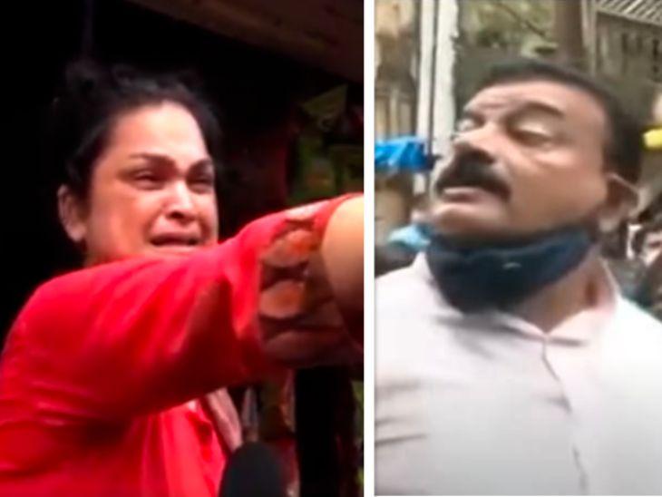 महिलेसोबत अरेरावी केल्याच्या वादावर भास्कर जाधव आणि महिलेची प्रतिक्रिया, महिला म्हणाली - त्यांनी अरेरावी केलेली नाही, आमचे घरचे संबंध मुंबई,Mumbai - Divya Marathi