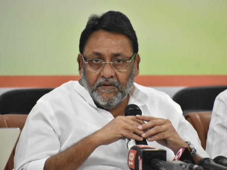 आमदार फोडून झारखंड सरकार पाडण्यासाठी भाजपचे महाराष्ट्र कनेक्शन; भाजपच्या माजी मंत्र्यांचा समावेश - नवाब मलिक मुंबई,Mumbai - Divya Marathi