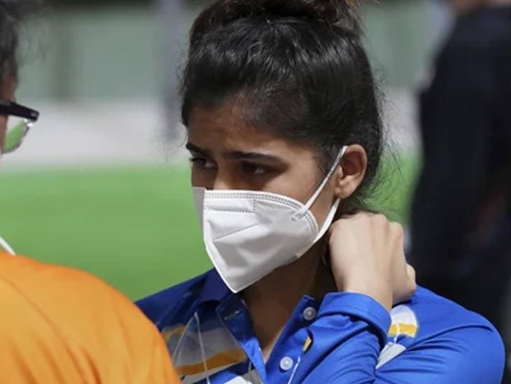 नेम धरला, पण नशिबाची हुलकावणी; पहिलीच संधी मनूने गमावली स्पोर्ट्स,Sports - Divya Marathi