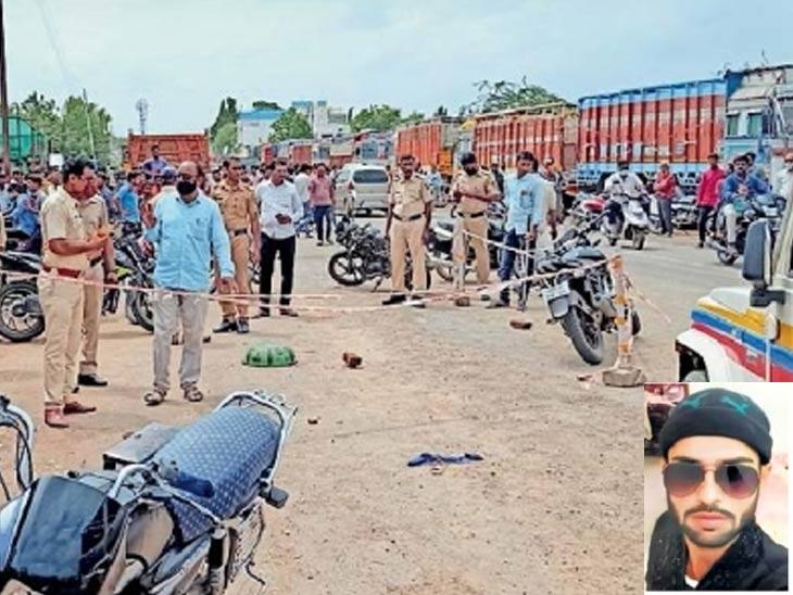 जुन्या वादातून पुसद शहरात अंदाधुंद फायरिंग करत २८ वर्षीय तरुणाची हत्या; पोलिस अधीक्षकांची घटनास्थळी भेट यवतमाळ,Yavatmal - Divya Marathi