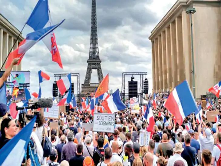 युरोपात प्रतिबंध पुन्हा वाढले; पर्यटकांना बंदी, लसीवर भर, फ्रान्स व इटलीत पर्यटकांसाठी व्हॅक्सिन पास आवश्यक|विदेश,International - Divya Marathi