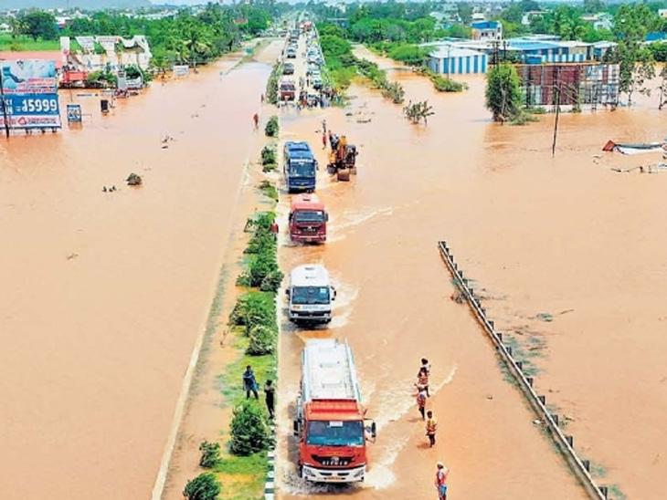 'त्या' दिवशी कोल्हापुरात 10, तर साताऱ्यात सातपट जास्त पाऊस, हवामान बदलामुळे 22-23 जुलैचा हाहाकार|औरंगाबाद,Aurangabad - Divya Marathi