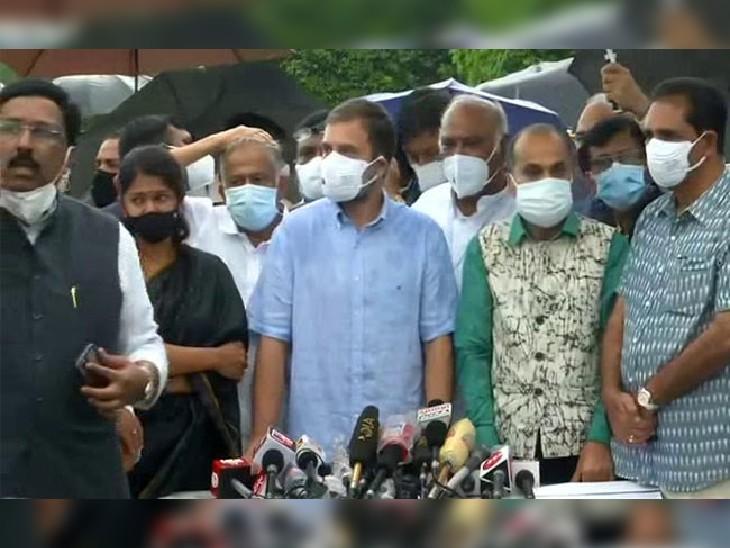 मुळात पेगाससचा वापर हाच देशद्रोह! यावर संसदेत चर्चा का होत नाही? हेरगिरी प्रकरणावर काँग्रेस नेते राहुल गांधी आक्रमक देश,National - Divya Marathi