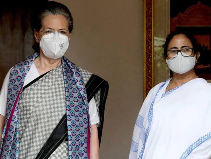 2024 मध्ये विरोधी पक्षांतून कुठलाही चेहरा असला तरी अडचण नाही - ममता; सोनिया गांधींना भेटल्यानंतर वक्तव्य देश,National - Divya Marathi